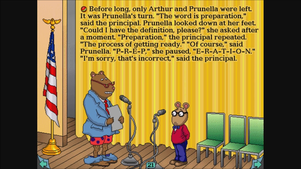 arthurs teacher trouble coloring pages - photo#5