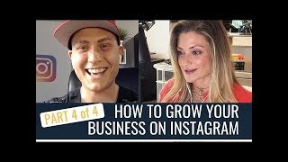 HOW TO GROW YOUR BUSINESS ON INSTAGRAM|ENTREPRENEUR INTERVIEW|PART 4