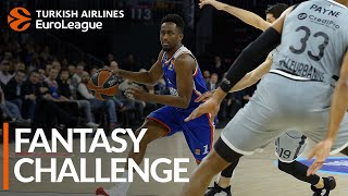 Turkish Airlines EuroLeague Regular Season Round 25: Fantasy Challenge