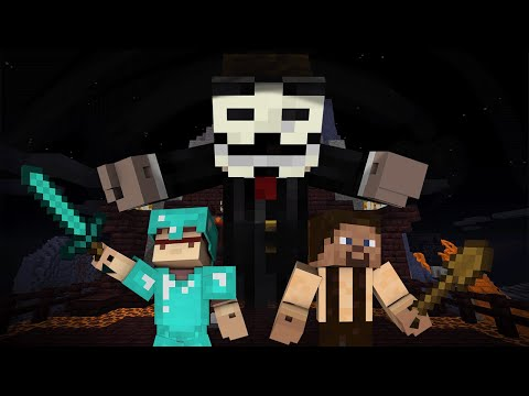 Noob And Pro VS Hacker - FULL Minecraft Movie
