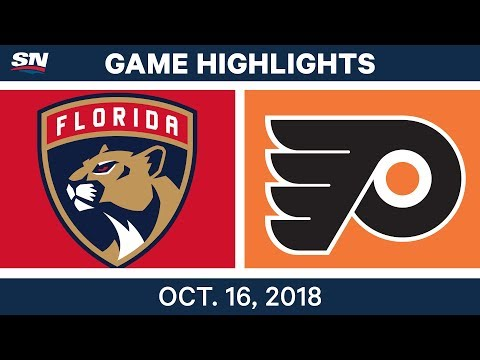 NHL Highlights | Panthers vs. Flyers - Oct. 16, 2018
