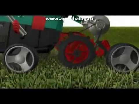 Скарификатор-аэратор TM IRON ANGEL EVL 1500 - YouTube