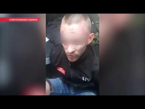 Появилось видео задержания воров-гастролеров в центре Волгограда
