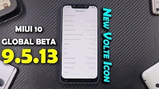 MIUI 10 9.5.13 Beta| POCO F1 | New Volte Icon | Snappier Than Stable Update | Smartphone2torials