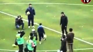12 Yaşındaki Çocuk Ronaldoya Kafa Tutuyor :D