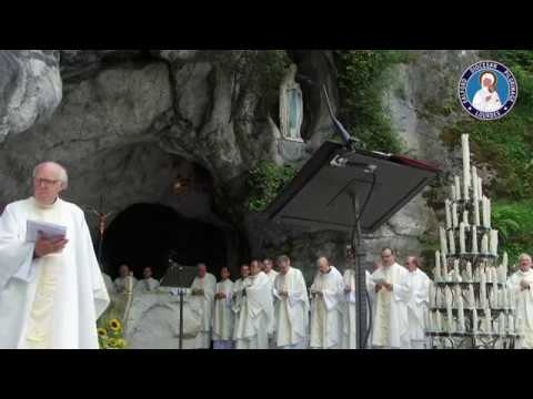 'Sing Of Mary' - The Grotto, Lourdes. - Salford Lourdes Pilgrimage