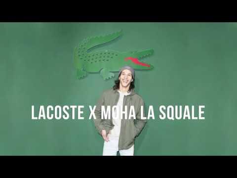 Lancement collaboration Moha La Squale x Lacoste