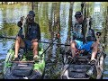 Kayak Bass Fishing- Fishing with Drew Gregory: MONSTER CATCHES and INSANELY clear waters!!
