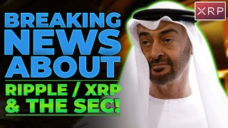 LATEST NEWS ABOUT RIPPLE / XRP & THE SEC YOU NEED TO SEE!