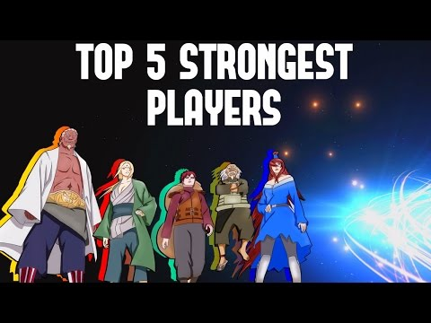 Naruto Online: SERVER 1/SERVER 2 | 5 STRONGEST IN  POWER