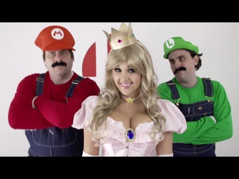 SMASH - Super Smash Bros. in REAL LIFE - Smash Rap Song