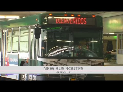 Greenlink Offering New Routes, Changes In Greenville Co.