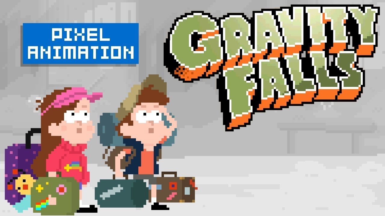 Gravity Falls Pixel Intro (reupload)