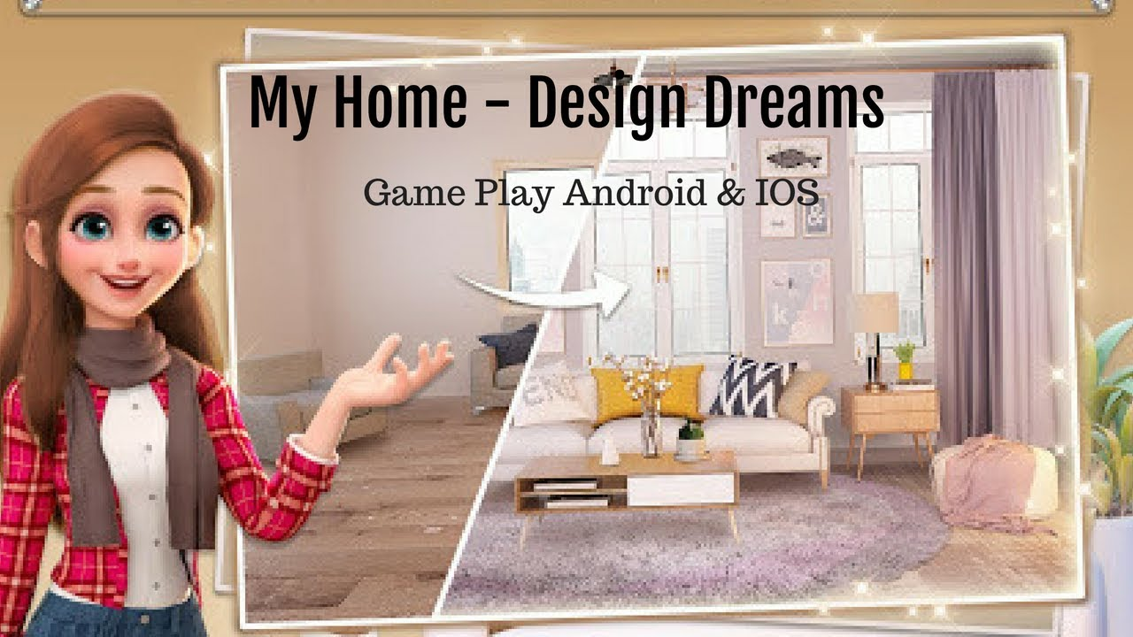 My Home Design Dreams Gameplay