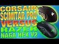 Corsair Scimitar Pro VS Razer Naga Hex V2 - Which Gaming Mouse Is Better