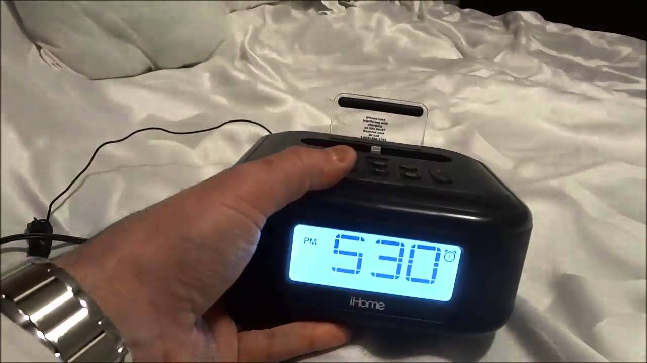 iHome iPL23 Review-Clock Radio With Lightning Dock