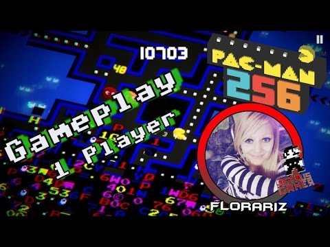 PAC-MAN 256 Laberinto Sin Fin ( 1 Player Gameplay ) Con Florariz