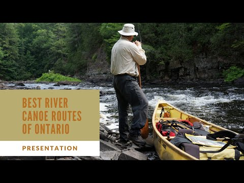 Best River Canoe Routes Of Ontario - Presentation