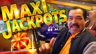 BIG JACKPOT TIME !!! Jackpot Streams - 2c KONAMI Video Slots