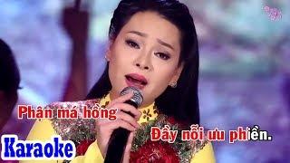 Phận Má Hồng (Karaoke Beat) - Tone Nữ | Đông Đào Karaoke