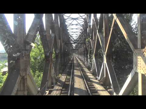 Train Driver's view: railroad in Serbia from Novi Beograd to Beograd spoljna - SERBIAN RAILWAYS