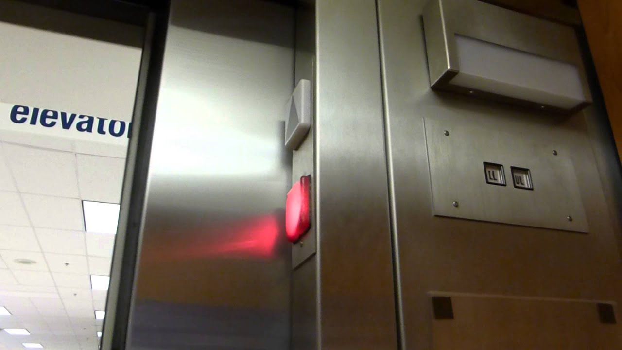 Montgomery Hydraulic Elevator At Sears Vista Ridge Mall