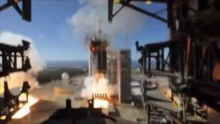 Delta IV Heavy fireball