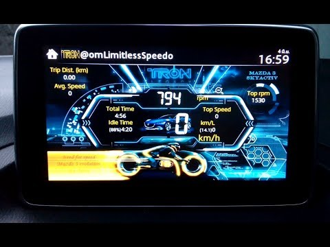 Car Speedometer Wallpaper Mazda All In One 2 6 0 Install Video Player Amp Tron