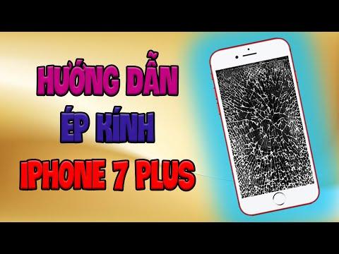 Hướng Dẫn Ép Kính iPhone 7 Plus   Bệnh Viện Điện Thoại