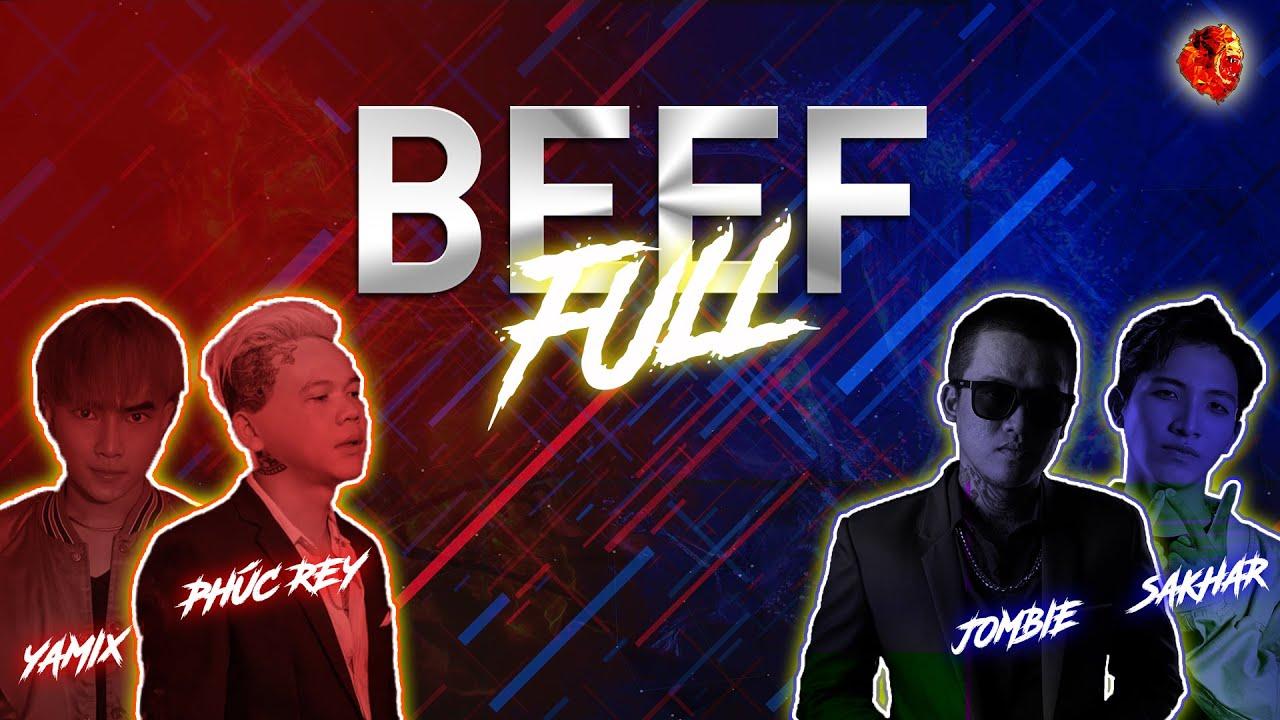 『2020 BEEF』 PHÚC REY  x YAMIX VS. JOMBIE x SAKHAR (FULL)「Lyrics」