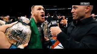 The story of Conor McGregor's rise to become UFC champion - Incredible promo | BT Sport