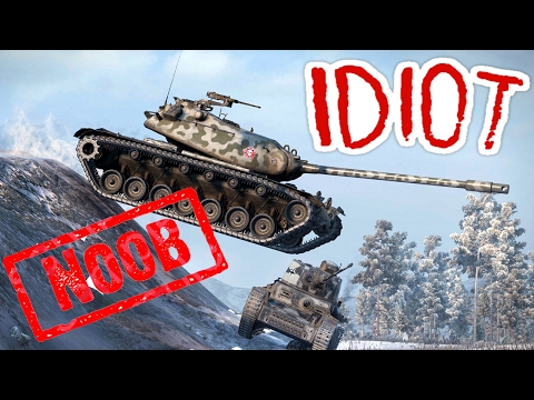 NAJGORSZY GRACZ (18+) - FAIL COMPILATION - World of Tanks