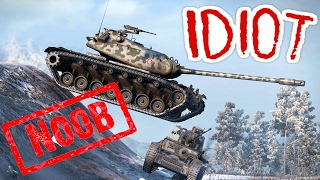 NAJGORSZY GRACZ (18+) - FAIL COMPILATION - World of Tanks