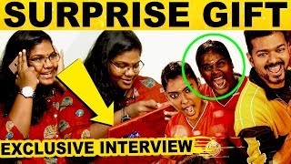 Exclusive Interview With Indraja Shankar..!  Bigil Girl