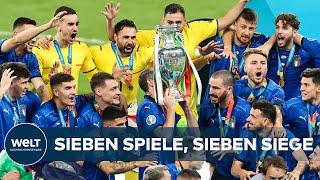 EM 2021: Italien zerstört Englands Titel-Träume im Elferkrimi – Squadra Azzurra holt EM-Titel