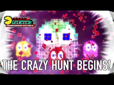 PAC-MAN Championship Edition 2 - PS4/XB1/PC - The Crazy Hunt Begins!