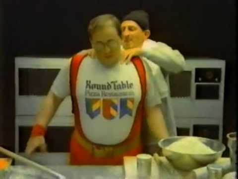 1984 Round Table Pizza Commercial