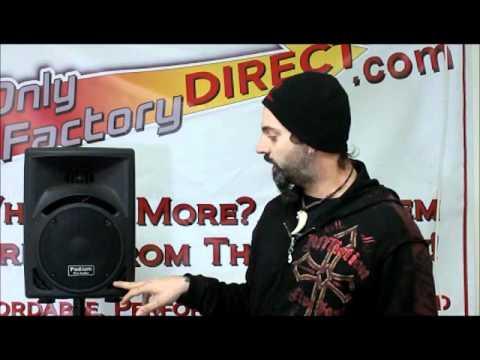 PP810 Podium Pro Audio 2way PA Speaker