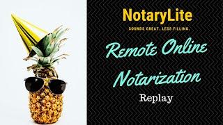 Notarylite: Remote Online Notarİzation with Laura Biewer