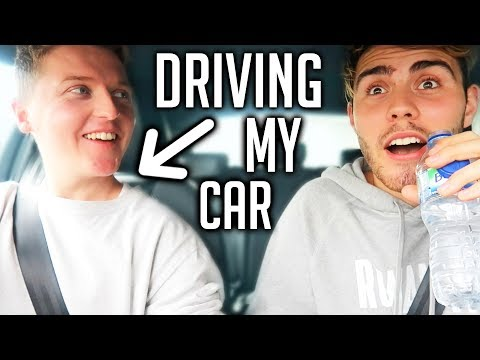 LETTING SEAN DRIVE MY CAR!! *HIS FIRST TIME*