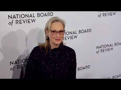 Meryl Streep attends the 2018 National Board of Review Awards Gala