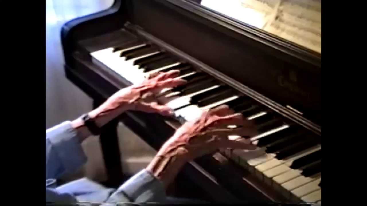 Mrs. St. Maxens on the Piano  7-24-95