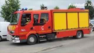 SDIS 62 VSAV2, VSRS et VL SSSM Sapeurs-Pompiers Bapaume