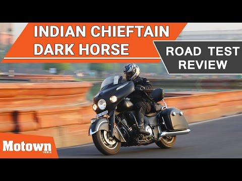 Indian Chieftain Dark Horse | First Ride | Motown India