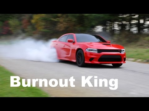 The Burnout King – Hellcat Charger Review!