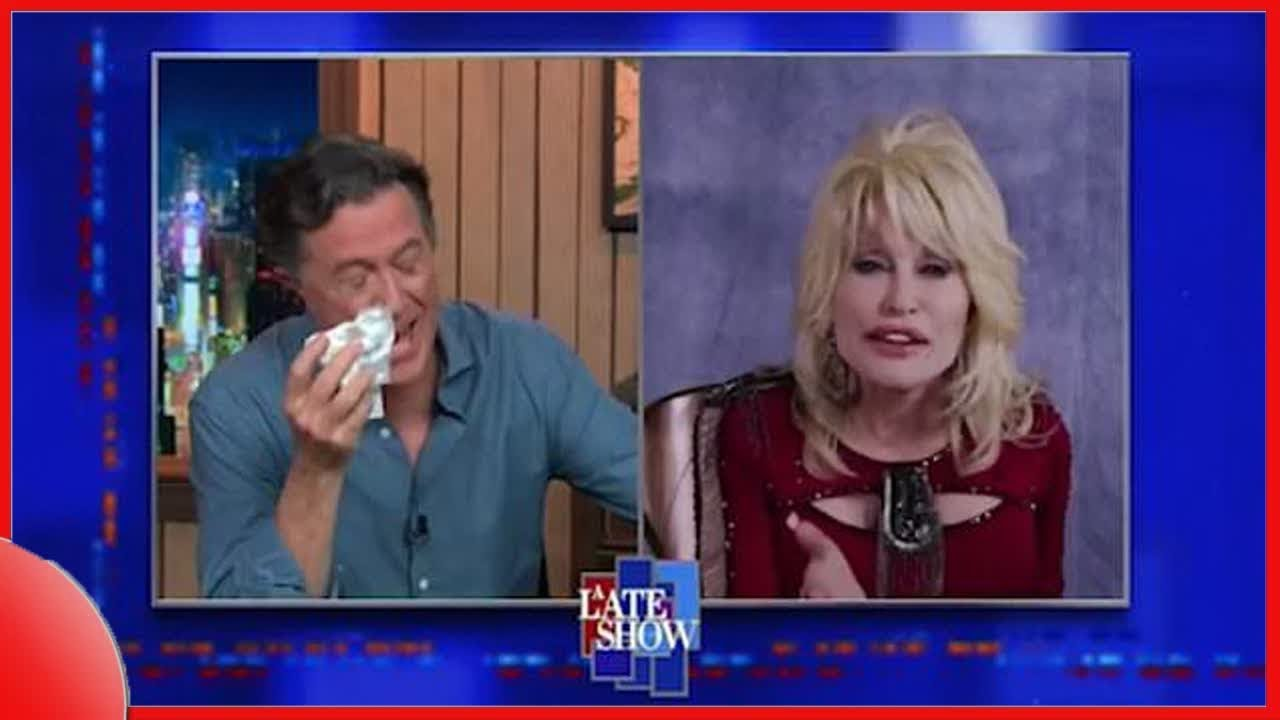 Dolly Parton performance moves Stephen Colbert to tears: 'I'm under ...