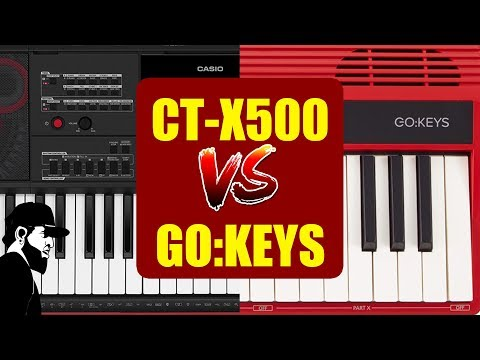 Casio CTX-5000 Vs Roland GO:Keys (Comparativo)   Tudo Sobre Teclado Musical (TSTMEP033)