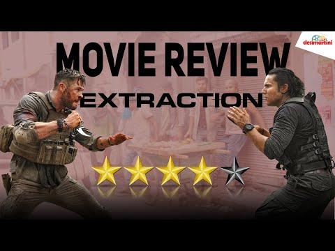 Extraction Movie Review - Chris Hemsworth  Randeep Hooda Sam Hargrave