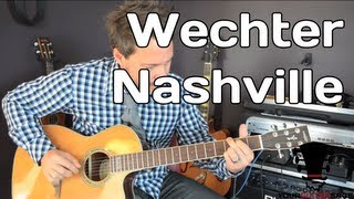 Wechter Nashville Guitar Review   Tuned   Strung   Your Guitar Sage