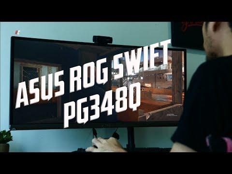 UNBX: Asus ROG Swift PG348Q Ultrawide Gaming Monitor